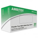 Ambitex Nitrile Blue Gloves Small